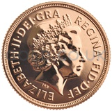 Elizabeth II, Fourth Head - Gold Sovereign