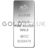 1 Kilo PAMP Minted Silver Bar