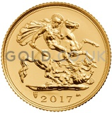 Gold Half Sovereigns