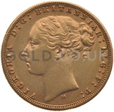 Victoria, Young Head - Gold Sovereign