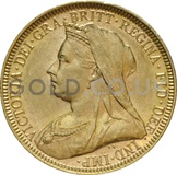 Victoria, Old Head - Gold Sovereign
